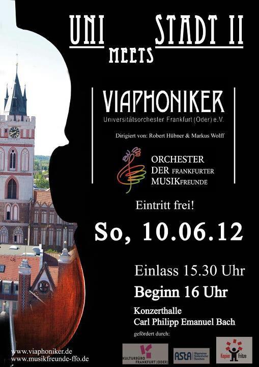 Plakat: Uni meets Stadt II